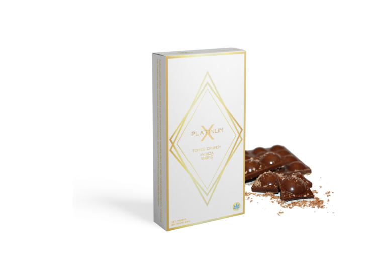 TOFFEE CRUNCH 1000MG INDICA - PlatinumX