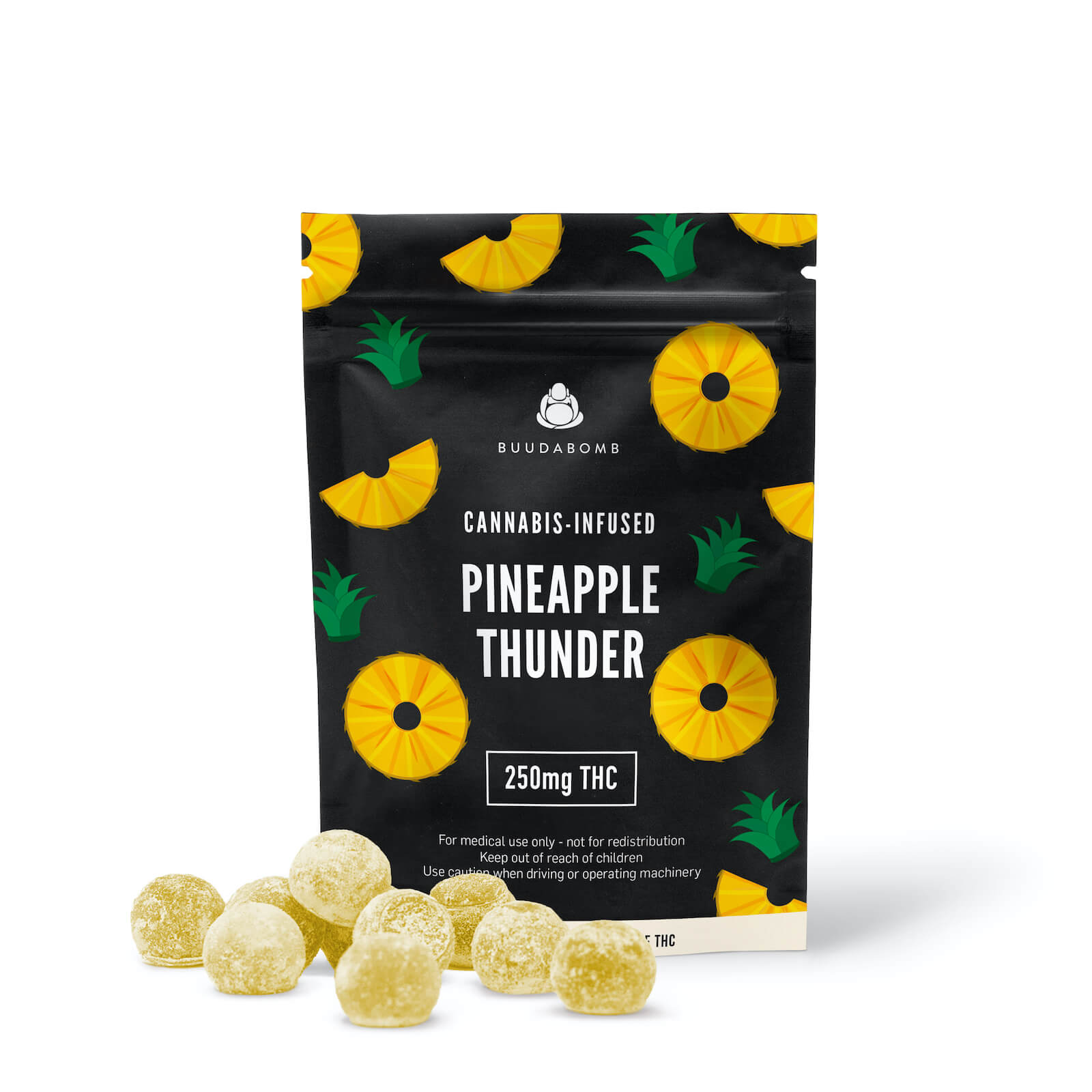 PINEAPPLE THUNDER 250mg - Buudabomb